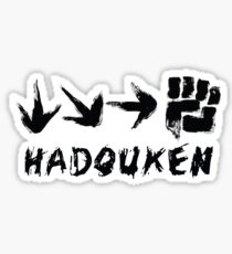 Hadouken Sticker