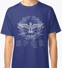SPQR The Roman Empire Emblem Classic T-Shirt