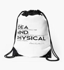 Mochila de cuerdas idea, mente, estado físico o mental - swami vivekananda