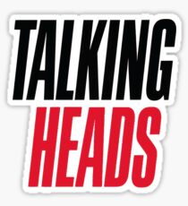 Talking Heads Sticker