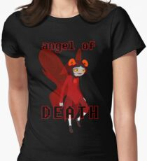 Angel of Death Women's Fitted T-Shirt