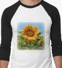 Sunflower Sunshine Men's Baseball ¾ T-Shirt