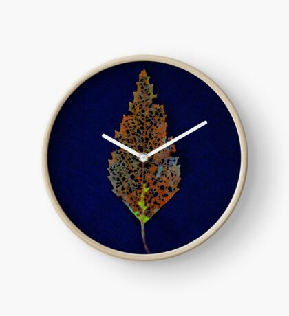 Lace Leaf 2 Clock
