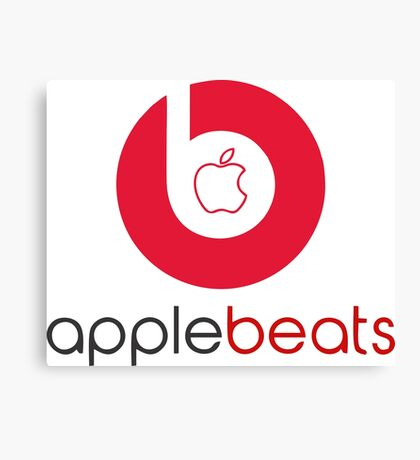 beats headphone Canvas Print