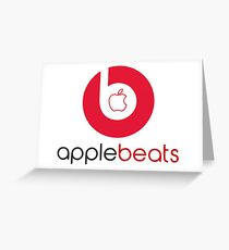 beats headphone Greeting Card