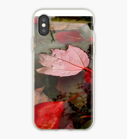 Floating Reds iPhone Case