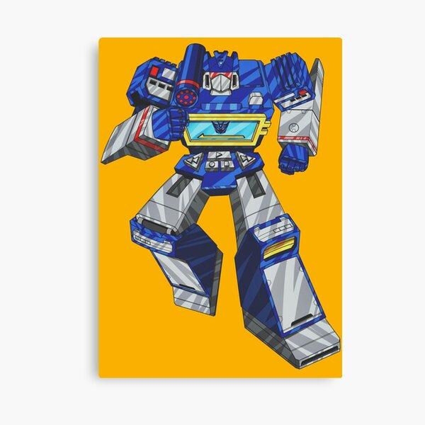 Soundwave Transformers Canvas Print