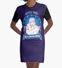 Vote for Dick Casablancas Graphic T-Shirt Dress