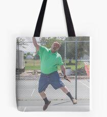 "The Funny Stepdad ""Tennis Legend"" Tote Bag"