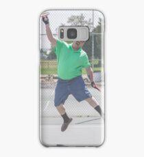 """The Funny Stepdad """"Tennis Legend"""" Samsung Galaxy Case/Skin"""