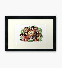 Parks & Rec Framed Print