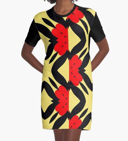 Flower of Gold 2 by Julie Everhart Graphic T-Shirt Dress