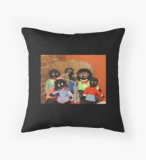 Sweet Collection of Gollies Throw Pillow