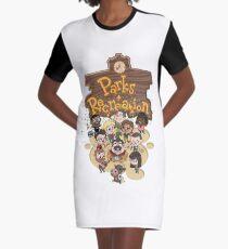 Parks & Rec Graphic T-Shirt Dress