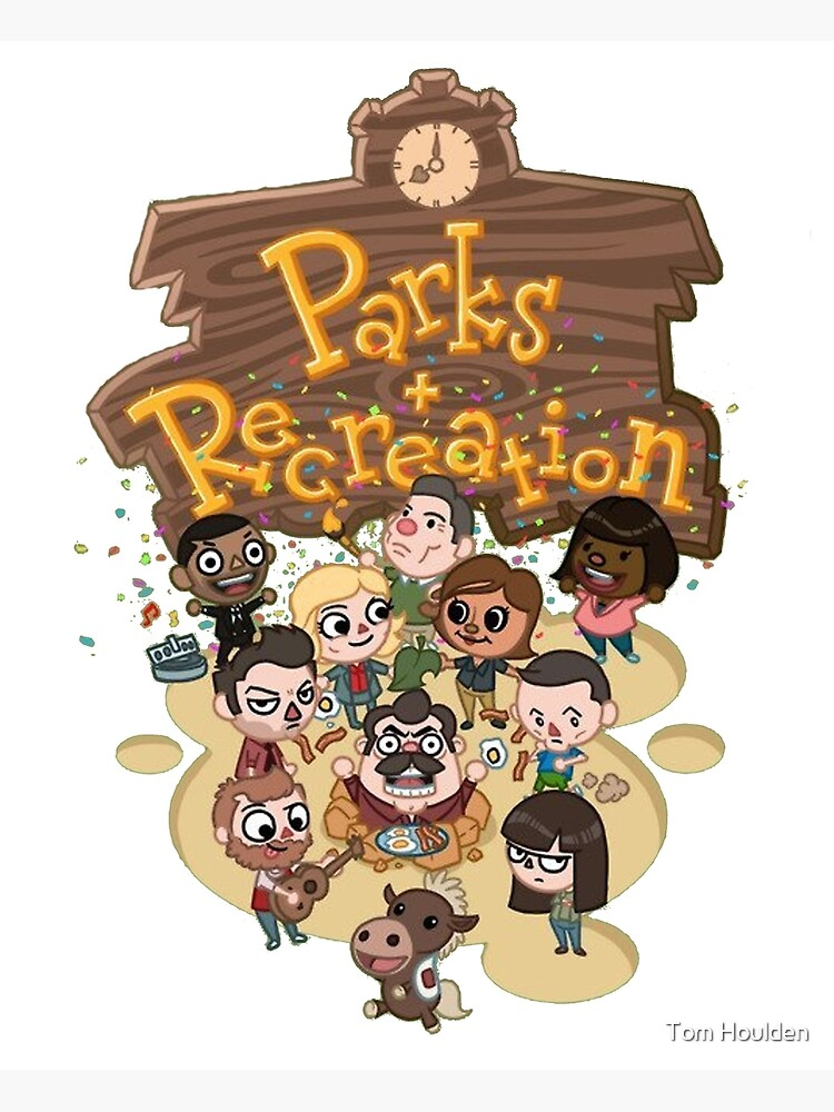 Parks & Rec by cptpuggles