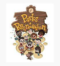Parks & Rec Photographic Print