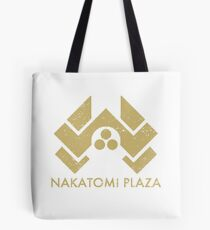 A distressed version of the Nakatomi Plaza symbol Tote Bag