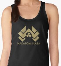 A distressed version of the Nakatomi Plaza symbol Women's Tank Top