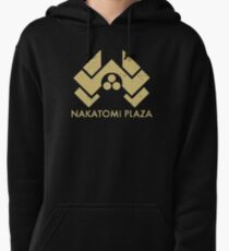 A distressed version of the Nakatomi Plaza symbol Pullover Hoodie