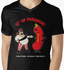 12 Inches of Paradise V-Neck T-Shirt