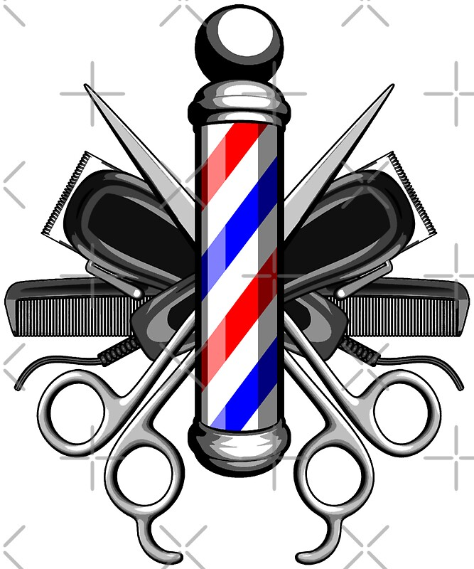 Hair Clipper: Stickers | Redbubble