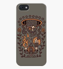 Grand Magus Summons Entity With Dark Popcorn Power iPhone SE/5s/5 Case