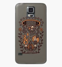 Grand Magus Summons Entity With Dark Popcorn Power Case/Skin for Samsung Galaxy
