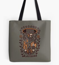 Grand Magus Summons Entity With Dark Popcorn Power Tote Bag