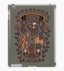 Grand Magus Summons Entity With Dark Popcorn Power iPad Case/Skin