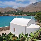 Pondamos chapel, Halki by David Fowler