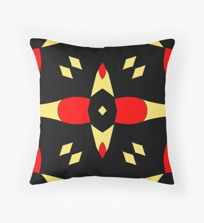 Flower of Gold 3 by Julie Everhart Throw Pillow