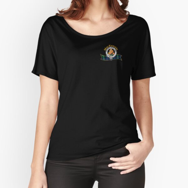 MacKenzie Clan Relaxed Fit T-Shirt