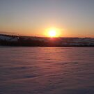 Sunrise over the snow! by poohsmate