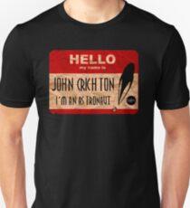 Hello my name is John Crichton Unisex T-Shirt