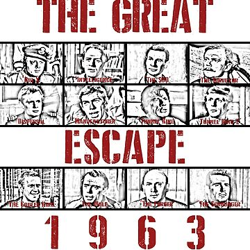 The Great Escape (1963) Red by rhizatay