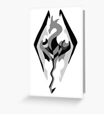 SKYRIM Greeting Card