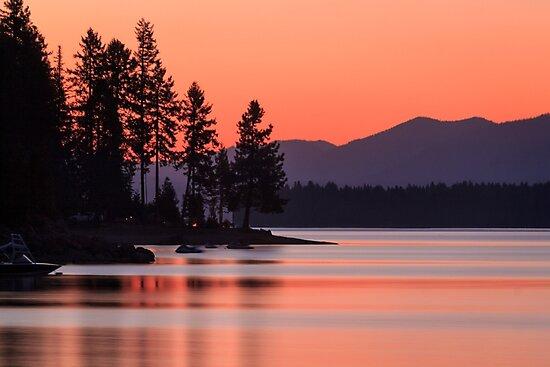 Lake Almanor Twilight by James Eddy