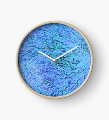 A Swirl of Grass - Blue Clock