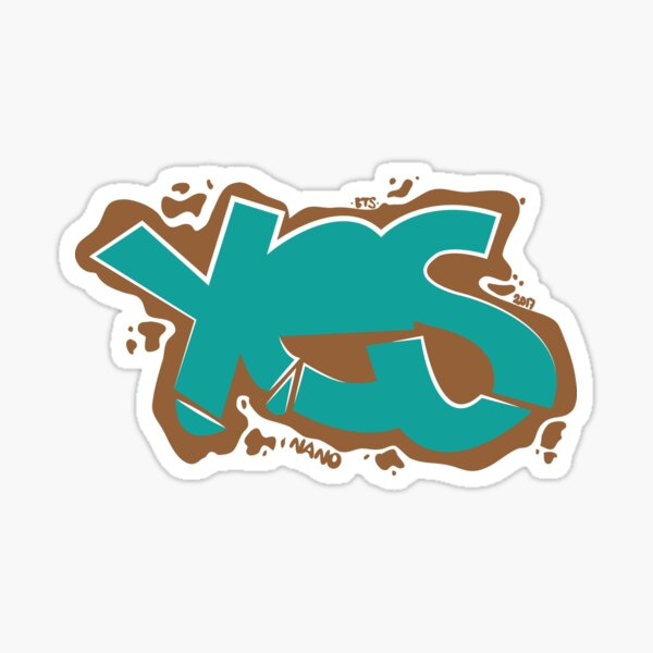 Yes - Easy Style Sticker