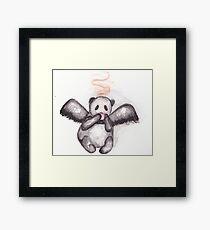 Cuppa Panda Coffee Framed Print