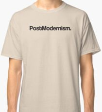 POST MODERNISM ARCHITECTURE Classic T-Shirt