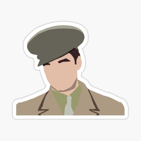 1940s Bucky Barnes Sticker