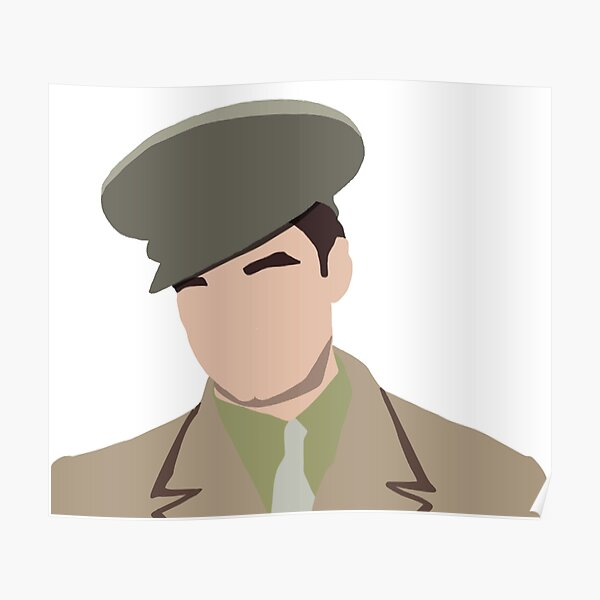 1940s Bucky Barnes Poster