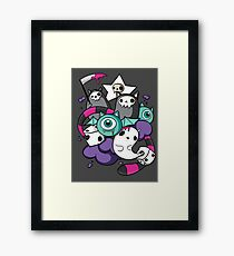 death dice Framed Print