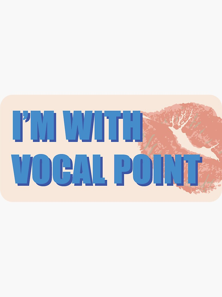 I'm with vocal point by 19970902