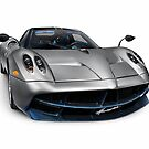 Pagani Huayra exotic sports car art photo print by ArtNudePhotos