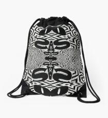 sos, another sos Drawstring Bag