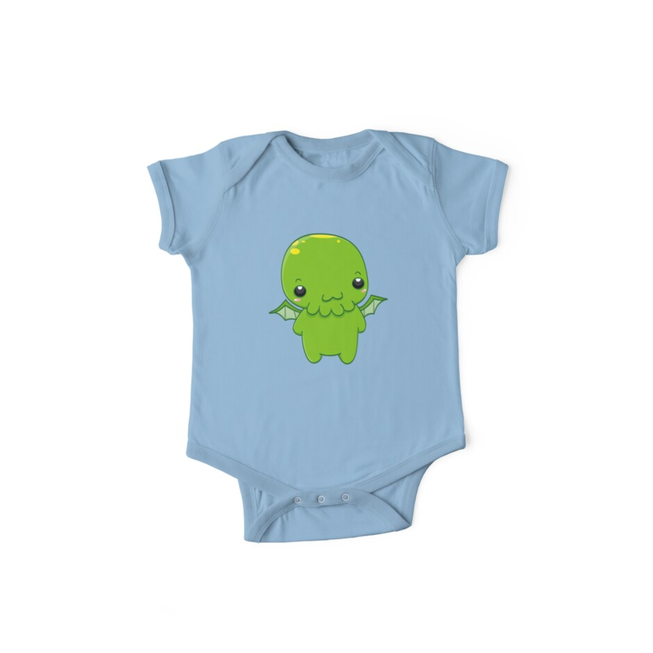 chibi cthulhu - the green monster von ConceptStore