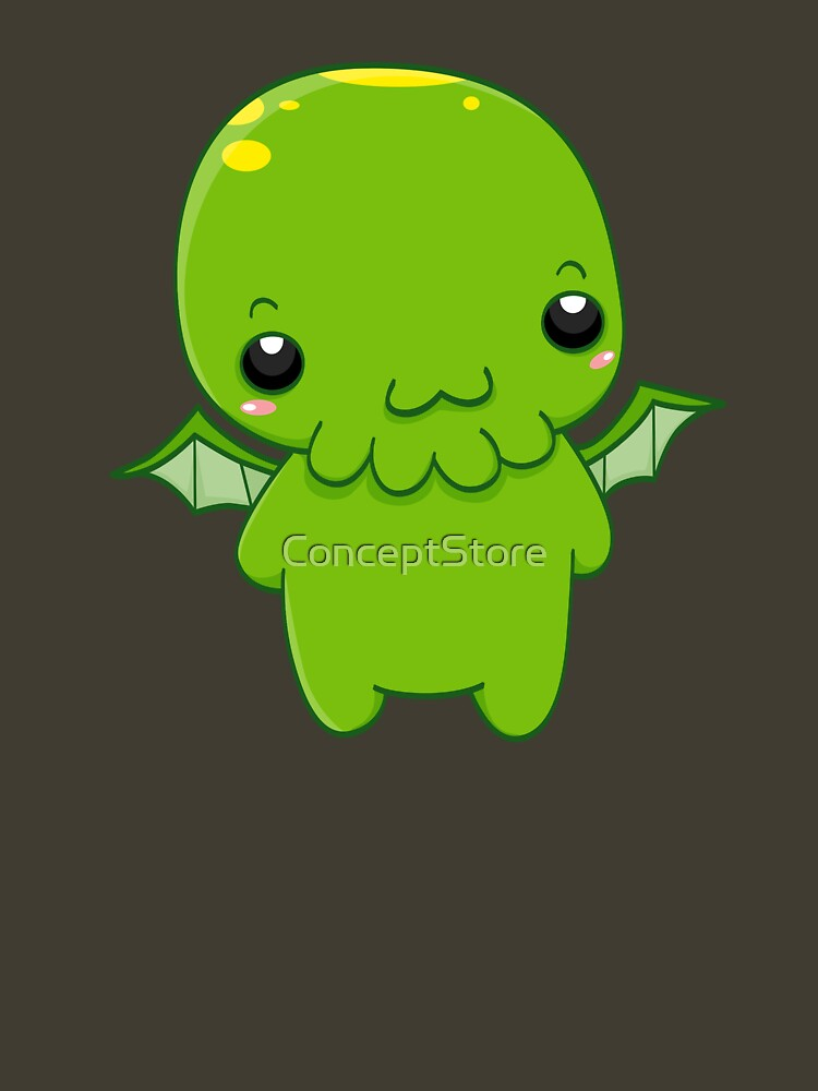chibi cthulhu - the green monster | Unisex T-Shirt
