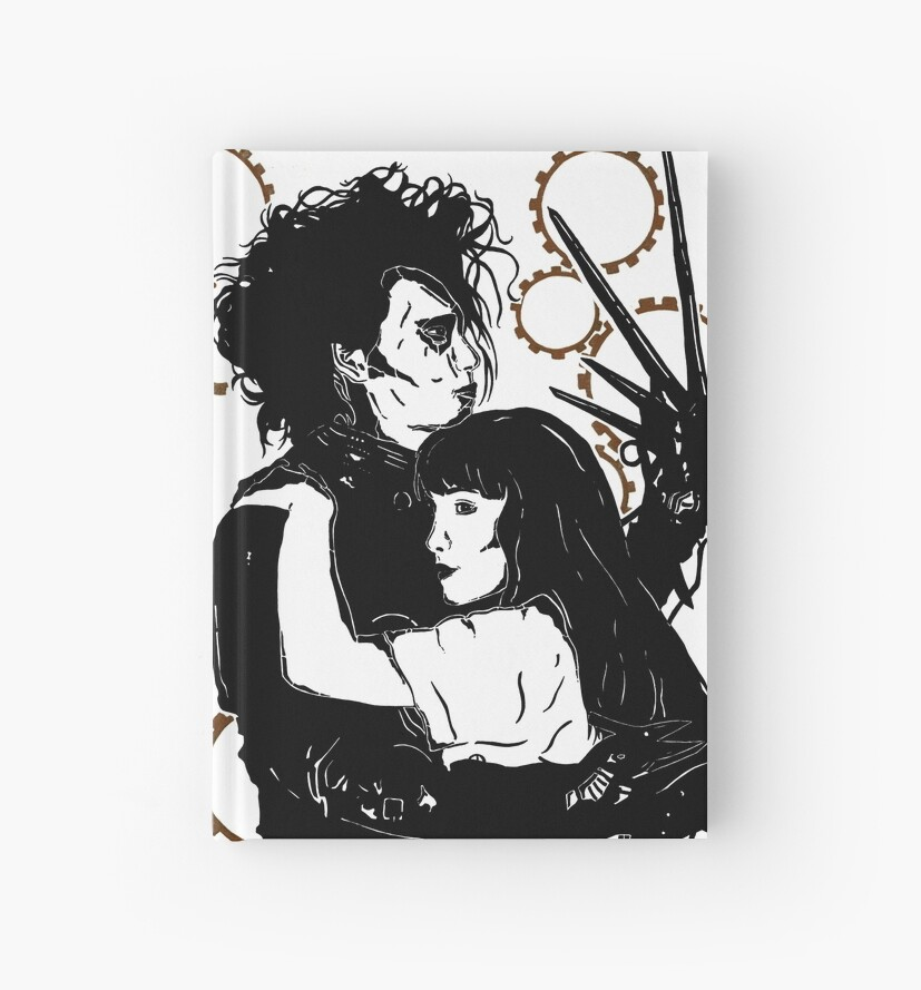 Edward Scissorhands and Kim by emily-eva-alice